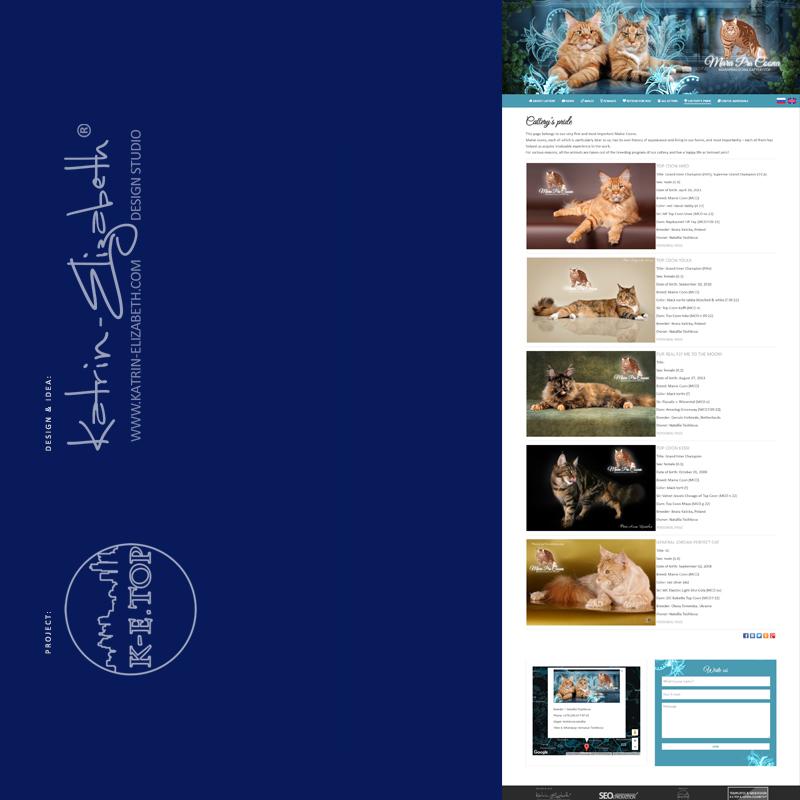 order cattery website