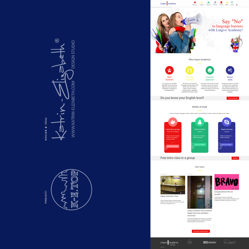 order website for company