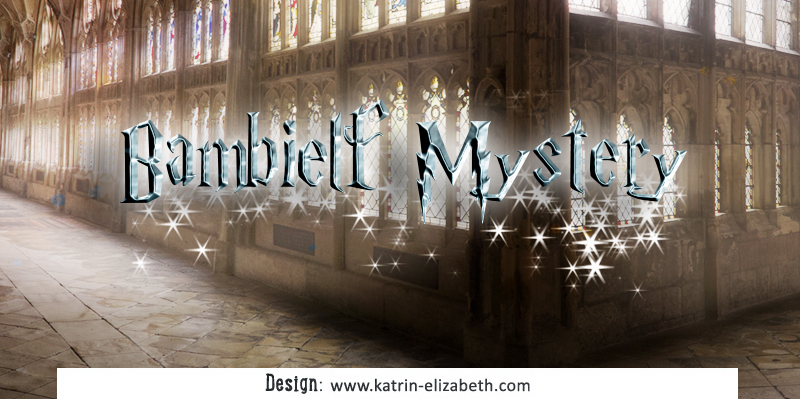 Simple logo of Bambielf Mystery cattery
