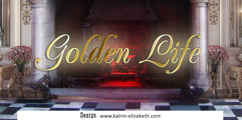 Спрощений логотип для розплідника Golden Life