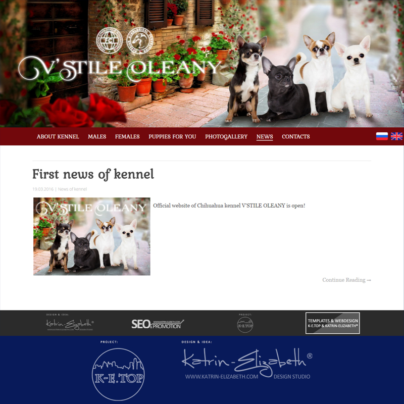 chihuahua kennel website