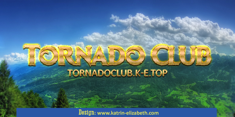 logotype for Tornado Club cattery & kennel